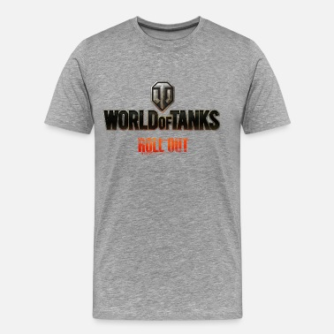 Officialbrands World of Tanks Homme sweat-shirt á capuche - Camiseta premium hombre