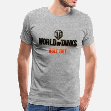 Officialbrands World of Tanks Men Hoodie - Maglietta premium uomo