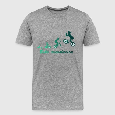 Bike (r) evolution - Männer Premium T-Shirt