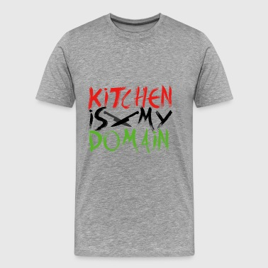 Kitchen is my territory - Men's Premium T-Shirt