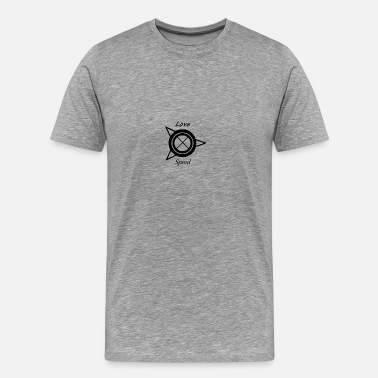 Twisted Wheel Love_Speed - Men's Premium T-Shirt