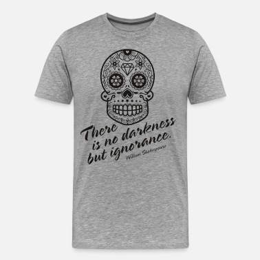 Calavera No Darkness - Men's Premium T-Shirt