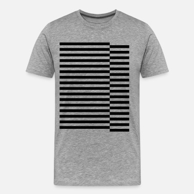 Stagger staggered strips - Men's Premium T-Shirt