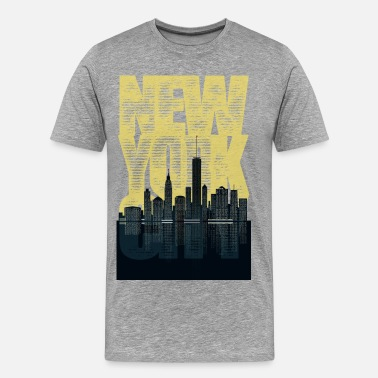 New York New York City - Men's Premium T-Shirt