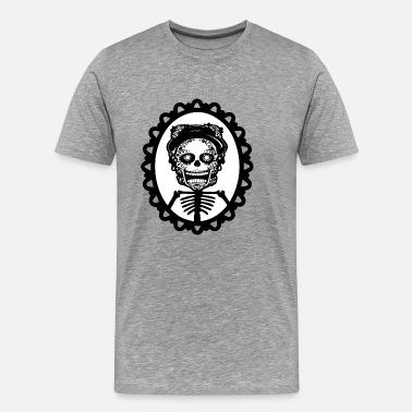Corsaire Skeleton Rock Star Skeleton - T-shirt Premium Homme
