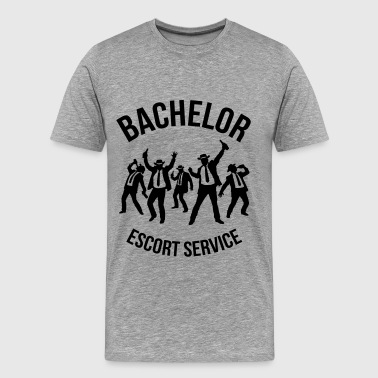 Bachelor Escort Service (Stag Party) - Men's Premium T-Shirt