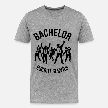 Hood Stag Party Bachelor Escort Service (Stag Party) - Men's Premium T-Shirt