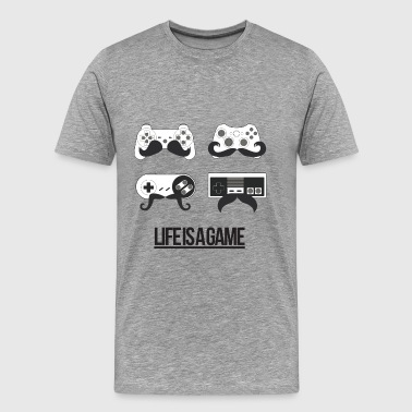 Life is a Game - T-shirt Premium Homme
