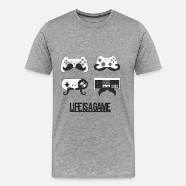 Life Is A Game Life is a Game - Men's Premium T-Shirt