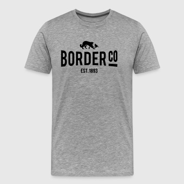 Border Co - T-shirt Premium Homme