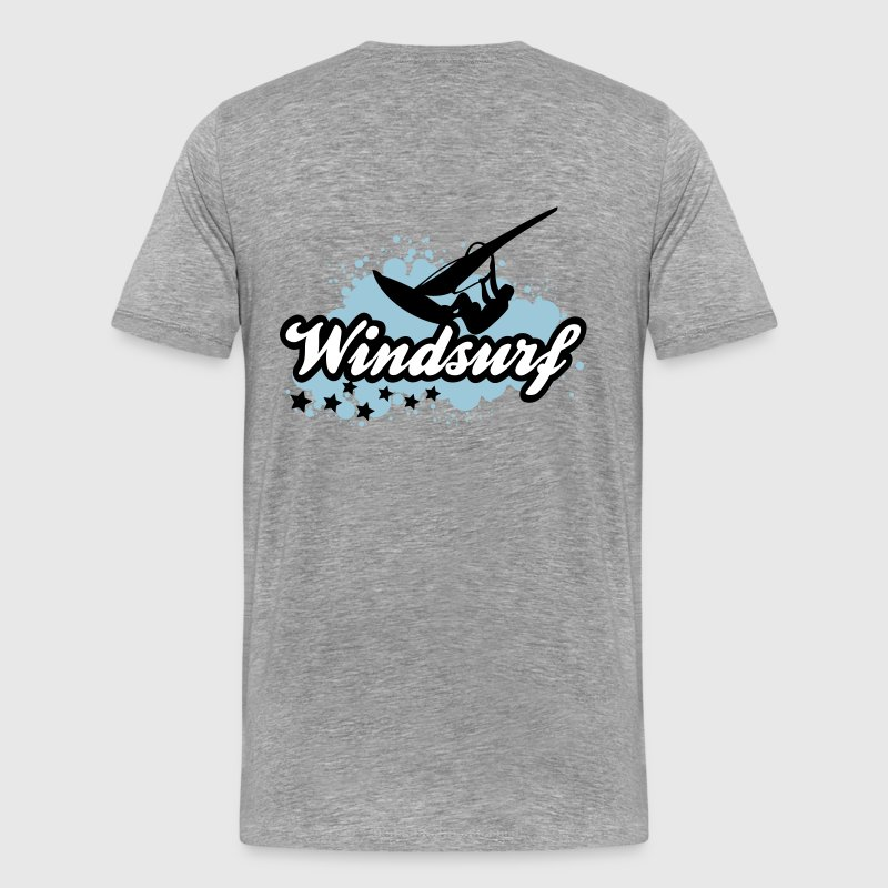 windsurf (3 couleurs modifiables) - T-shirt Premium Homme