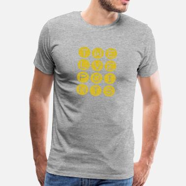 Song Twelve Points #3 - Männer Premium T-Shirt