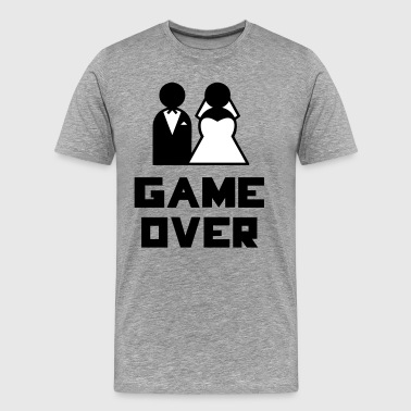 Game Over - Mannen Premium T-shirt