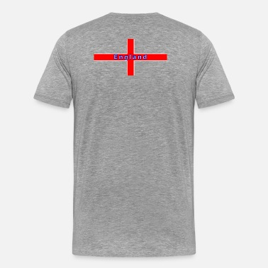 England 1966 Football Design england 1966 football - Men's Premium T-Shirt