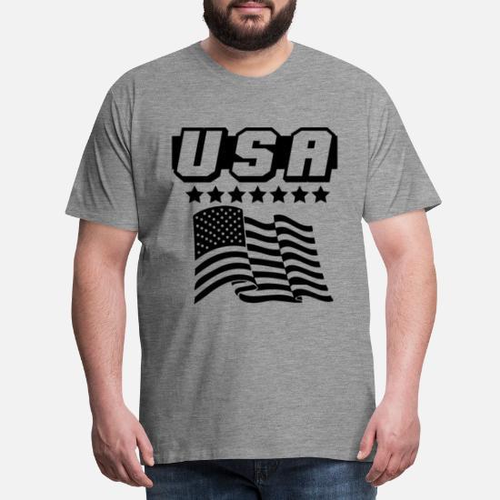 25 år sammen! sølvbryllup Premium T skjorte for menn