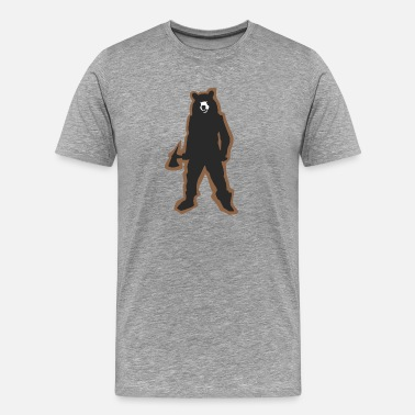 Bears Weed BEAR COLLECTION - Men's Premium T-Shirt