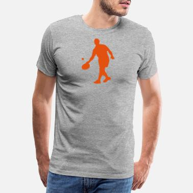 Game Ball tambourine game ball 1 - Men's Premium T-Shirt
