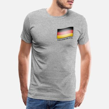 Flag Of Germany Germany flag - Germany flag - Men's Premium T-Shirt