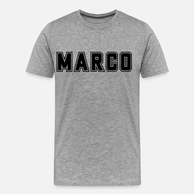 Marco College Marco First name Baby name Boy name Gift - Men's Premium T-Shirt