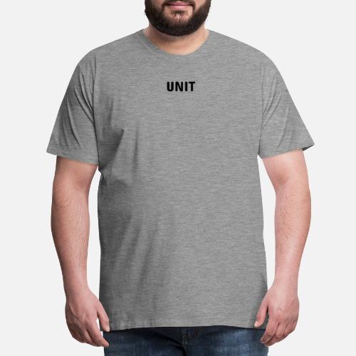 UNIT Vaatteet Miesten premium t-paita  f9388f9539