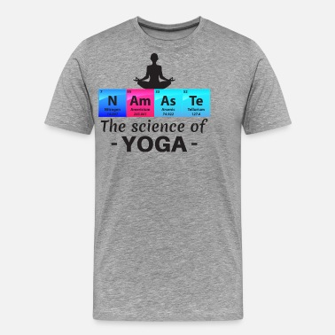 Stuff Namaste The Science Of Yoga Gift - Men's Premium T-Shirt