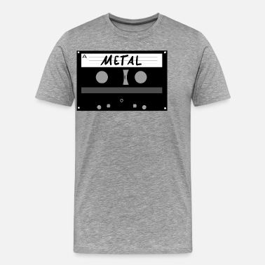 Speakers Loud Metal tape - Men's Premium T-Shirt