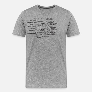 Desk Messy Desk Organization Gift - Men's Premium T-Shirt