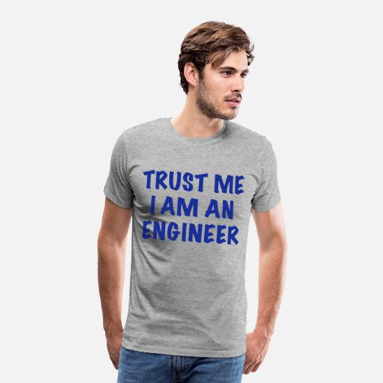 Specs T-Shirts - Engineer - Men's Premium T-Shirt heather grey