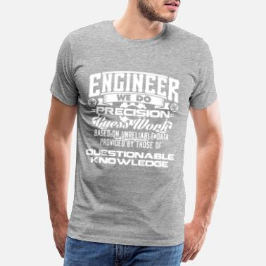 Software Ingenieur Design. Mechanisch, zivil, Software, Bio - Männer Premium T-Shirt