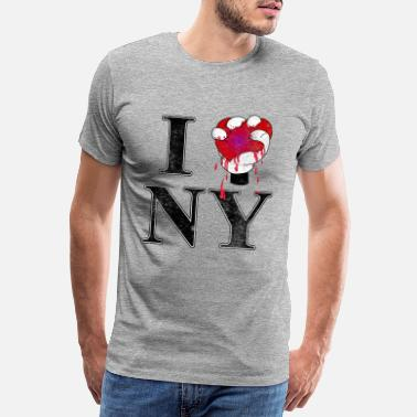 I Love Ny I love NY - Men's Premium T-Shirt
