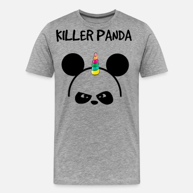 Cute Panda Killer panda - Men's Premium T-Shirt