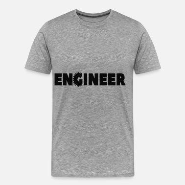 Cogwheel Mechanical Engineering engineer - Men's Premium T-Shirt