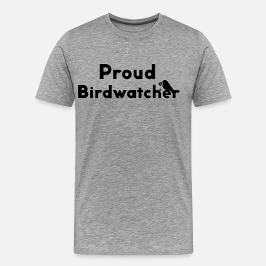 Ornithologist Bird little bird ornithologist robin gift - Men's Premium T-Shirt