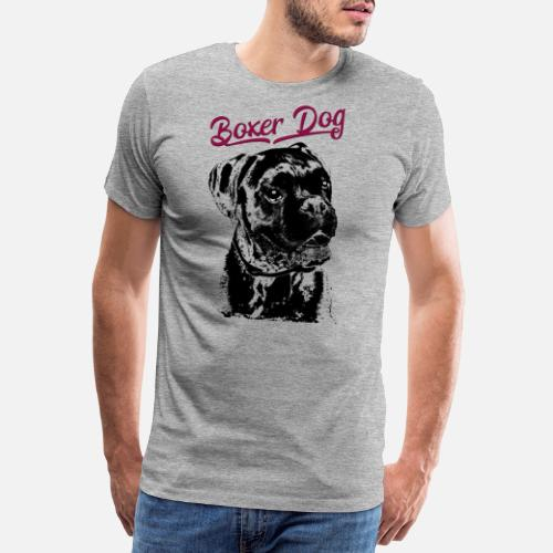 Deutscher Boxer Hund German Boxer Dog Manner Premium T Shirt
