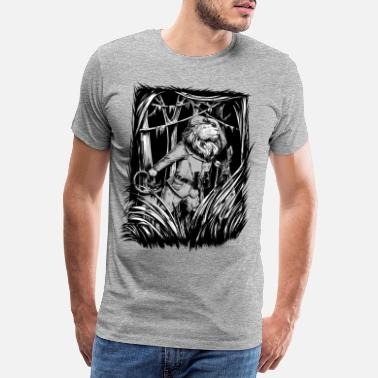 For Him King of the Jungle - Men's Premium T-Shirt