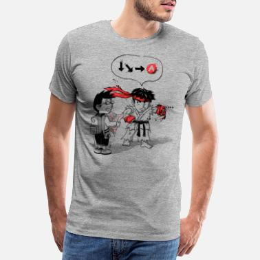 Video Hadoken? - Men's Premium T-Shirt