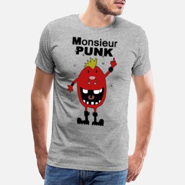 Madame Monsieur punk - T-shirt premium Homme