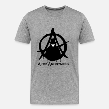 Anonymous Anonymous - A for Anonymous - We are legion - Männer Premium T-Shirt