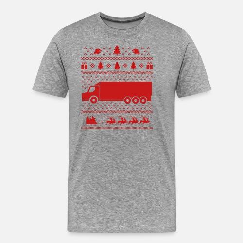Navidad - Navidad - Navidad - Feo - Camión Camiseta premium hombre ... 1549249ab036
