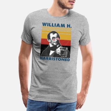 4 Stjerner William Harristoned - Premium T-skjorte for menn
