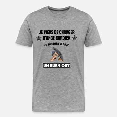 T-shirt Homme Gardien de trafic personnalisé ajouter nom excellente idée de cadeau Weltbesten