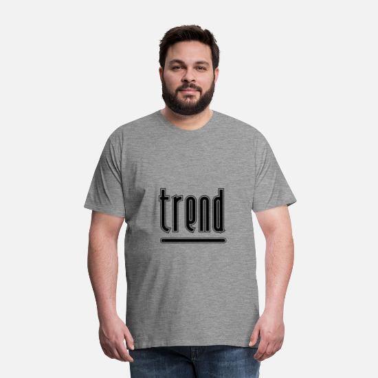 Internett trend Premium T skjorte for menn   Spreadshirt