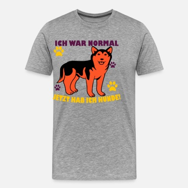 Normal Hundtröja · Paws · Normal present - Premium-T-shirt herr