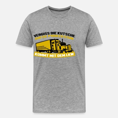 Kilometre Trucker Shirt · Speedometer Pointer · Forward Gift - - Men's Premium T-Shirt