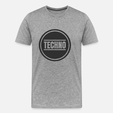 Détroit Cercle Techno Techno Merchandise Rave After Hour - T-shirt Premium Homme