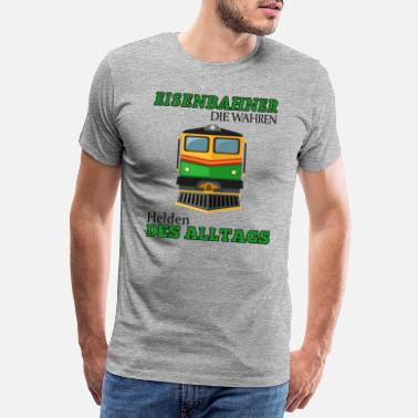 Metro Railroader-shirt • The True Heroes • Gift - Mannen premium T-shirt