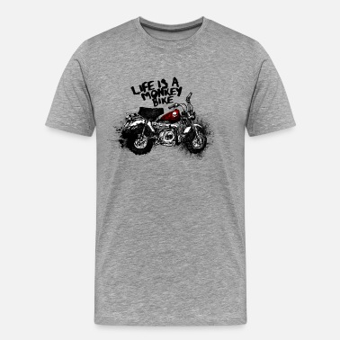 Bike Monkeybike - Men's Premium T-Shirt