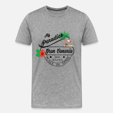 Canary Island Gran Canaria Canary Islands holiday - Men's Premium T-Shirt