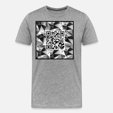 Application QR code avec design - T-shirt premium Homme