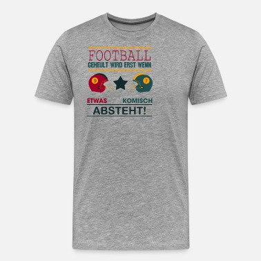 Wide Receiver Sports Shirt • American Football • Gift - Men's Premium T-Shirt